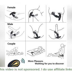 Top Gay Sex Toys Prostate Stimulator Vibrator Male Prostata Massager Dildo Anal Plugs Silicone Wire