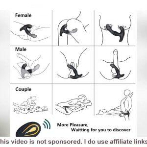 Top Prostate Stimulator Vibrator Gay Sex Toys Male Prostata Massager Dildo Anal Plugs Silicone Wire
